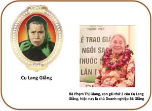 Cụ Lang Giằng và Phạm Thị Giang