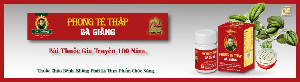 Phong Tê Thấp - bài thuốc gia truyền 100 năm